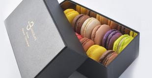 Chocolats et macarons