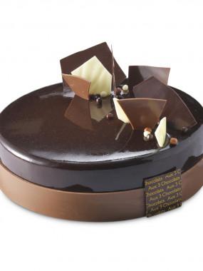 L'entremet 3 chocolats